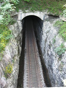 The Tunnel Hill property also contains Cowan Tunnel, an active railroad tunnel that is still used by CSX today