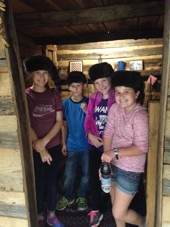SES  fifth graders visit the Highlander Folk School. Photo by Sewanee Elementary