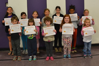 Sewanee Elementary students received the Good Listener Award for the first six weeks of school