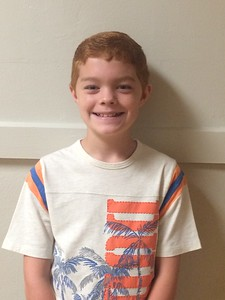Aaron Burney is a fourth grader at MES