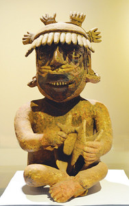 Musician sculpture from the state of Nayarit