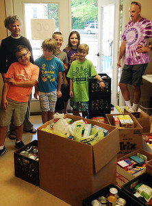 Sewanee Elementary School students collected items of food during a 10-day food drive for the local food bank run by Community Action Committee (CAC) in Sewanee