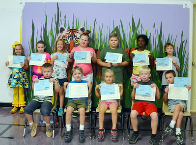 SES students received the Citizenship Award for the first six weeks of school