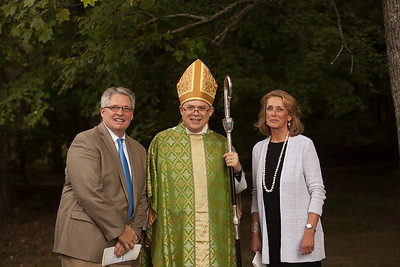 Karl J. Sjolund was installed as the new Head of School at St. Andrew's-Sewanee on Sept. 23.