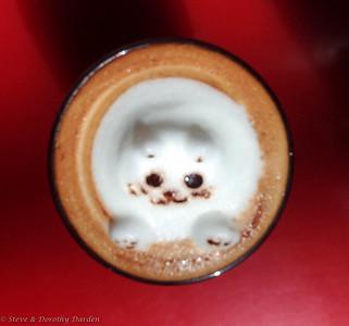IXL Coffee Art by Georgina 3D teddy bear with paws