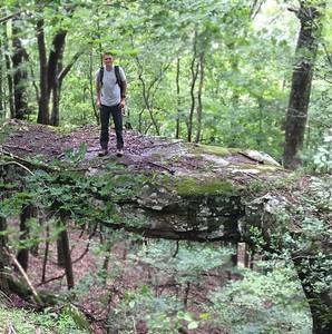 Nate on natural bridge