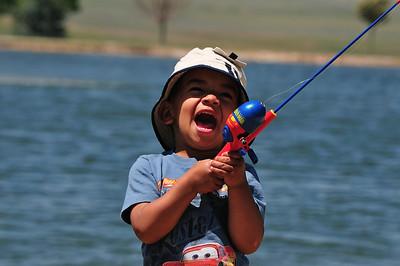 Fishing in Wright - June 2009