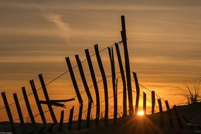 Plum Island Town Beach at Dawn