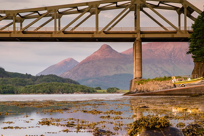 Pap of Glencoe from Under the Ballachulish Bridge