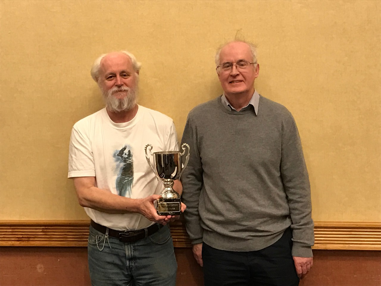 Blackpool Year End Congress 2016 - Swiss Pairs winners - Alan Mould & John Holland