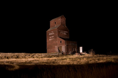 Painting the Grain Elevator with Lights Scott Prokop