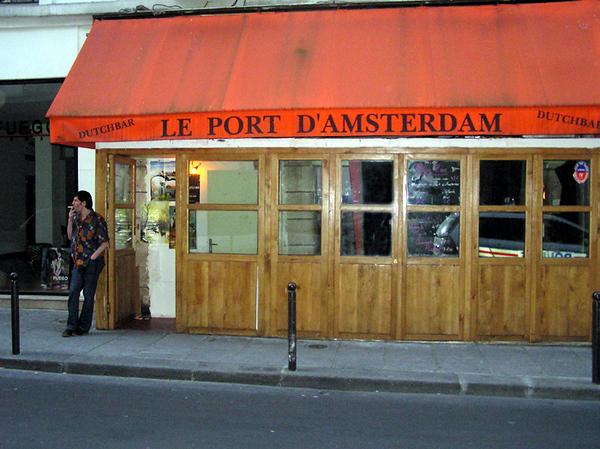 Dutch Bar With Police Car - Gayvin Franson