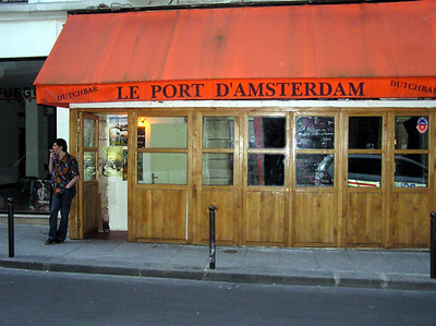 Dutch Bar With Police Car - Gayvin Franson