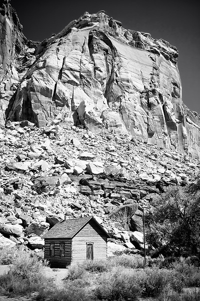 The Fruita School  is a one-room building constructed by residents in 1896, also served as a community center located in Capitol Reef National Park