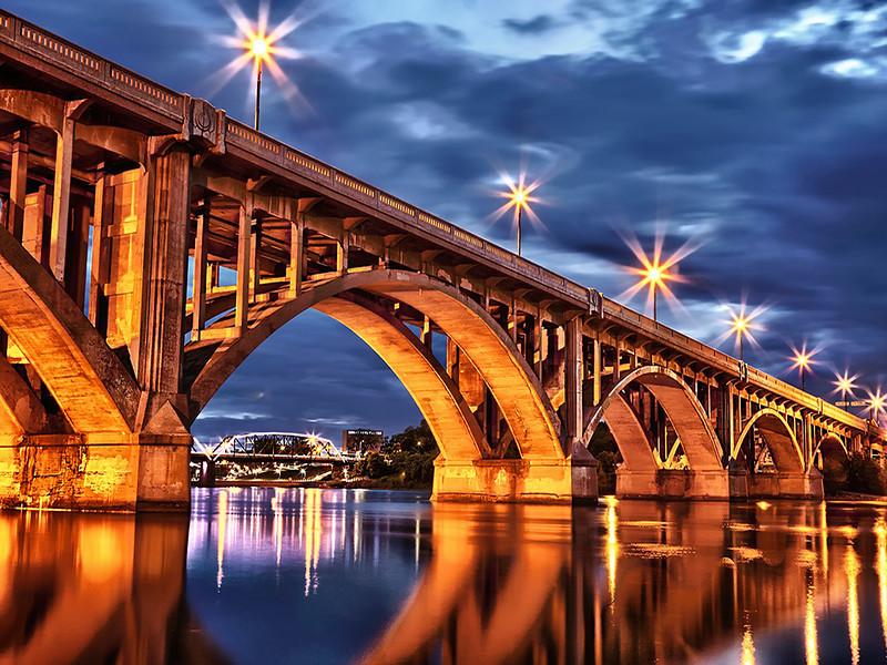 """Bridge City"" by Scott Prokop Winner: Altered Reality Digital Image Year-end"
