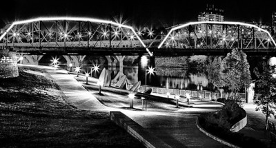 BW-River Landing Lights-Scott Prokop