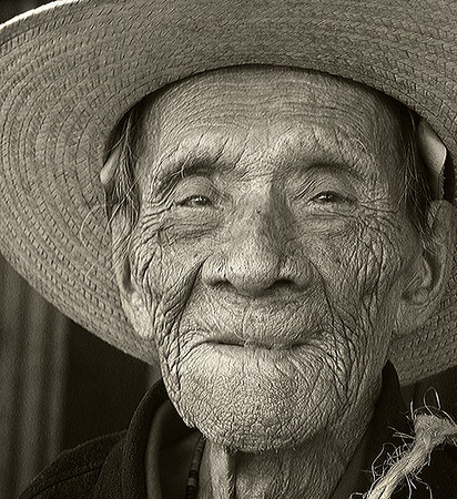 """One Hundred and Two Years Old"" by Barry Singer Winner: Portrait Digital Image Year-end"