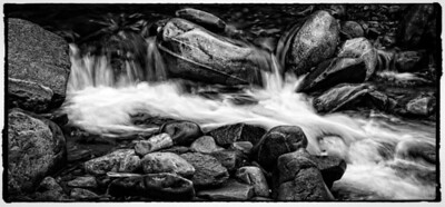 BW-Quiet Waterfall-Brian Barnhill