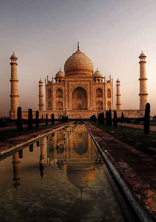 Print-TR-Dawn at the Taj Mahal-Barry Singer