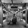 BW-Waiting for 3 Train-Tom Kroeker