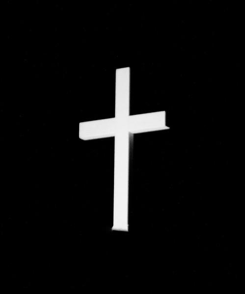 BW-The Cross on The Church-Ian Sutherland