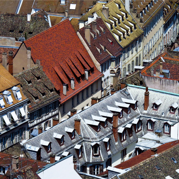 TR-Rooftops    From Above-Stephen Nicholson