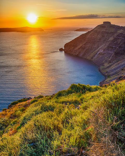 TR-Santorini Sunset-Nina Henry