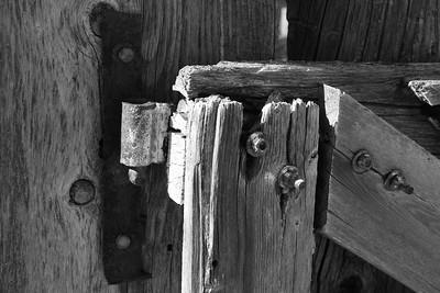 1Print-BW-Corral Gate-Gordon Sukut