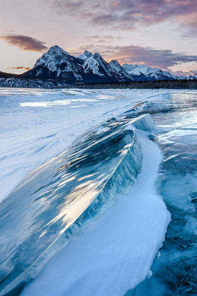 1Print-TR-First Light on Abraham Lake-Jacqui Ferguson