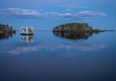 1Print-TR-Blue Hour La Ronge-Barry Singer