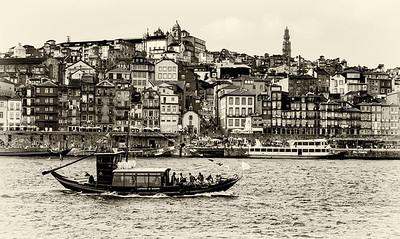 BW-Postcard From Porto-Nina Henry