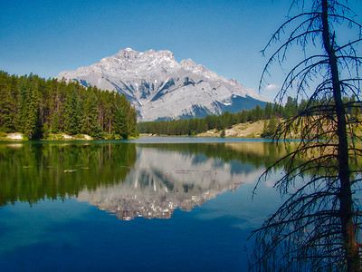 TR-Johnson Lake Reflection-Rob Arthur