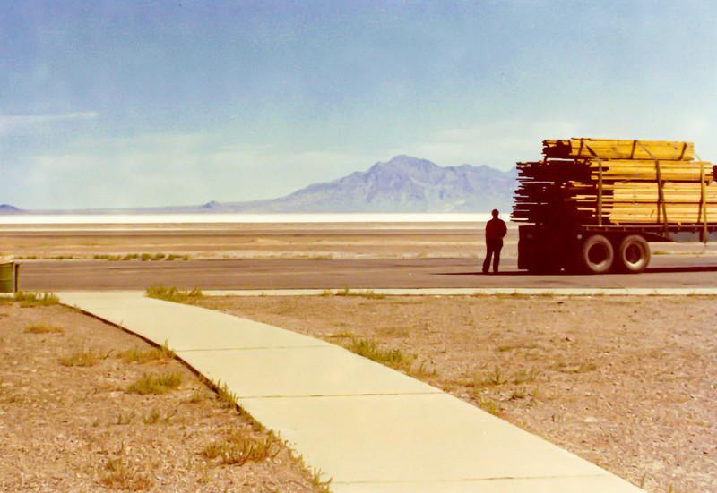 July 1973 Bonneville Salt Flats, Utah