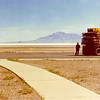 July 1973 Bonneville Salt Flats, Utah