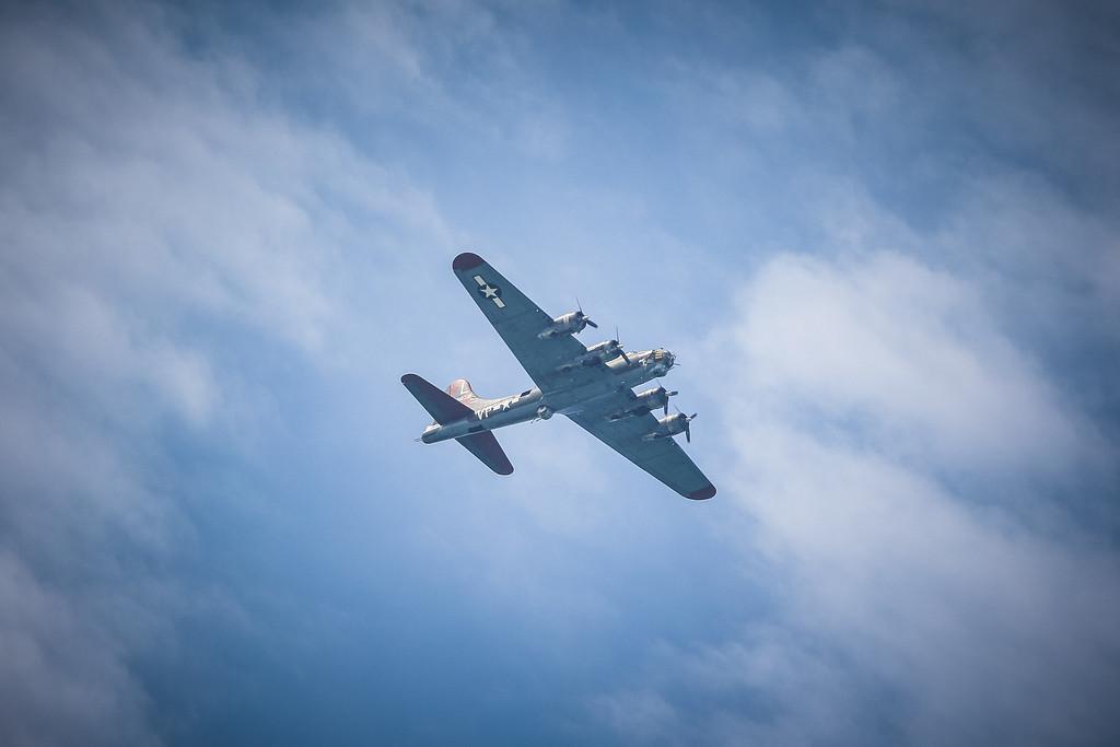 B-17 Flyover