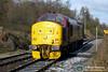 37419 runs around stock at Rhymney on 26th November 2005.