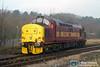 37405 runs around at Rhymney to work 2F18 10.15 Rhymney-Cardiff on 10th December 2005.
