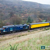 37605 trails the test train formation at Cwm with 1Z14 07.55 Derby RTC to Derby RTC via Ebbw Vale on 30th November 2007.