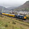 37606 is seen negotiating the valley at Cwm on the approach to Ebbw Vale on 30th November 2007 with a specially arranged 1Z14 07.55 Derby RTC to Derby RTC via Ebbw Vale working to test the branch in readiness for the line's re-opening to passenger traffic as of 6th February 2008. The 18 mile route was re-opened having been closed to passengers for 46 years. Freight operations to the former Ebbw Vale steelworks ceased during 2003.