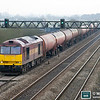 60071 is seen again, this time at Coedkernew with 6B13 Robeston-Westerleigh on 16th February 2012.