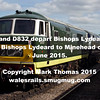 Class 35 'Hymek' D7017 and D832 'Onslaught' depart Bishops Lydeard on an additional 17.15 departure to Minehead during the West Somerset Railway 'Diesels at Home in the West' diesel gala on 6th June 2015.