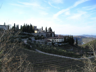 Around Tuscany in Feb.