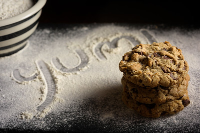 Food Photography of Cookies in Los Gatos