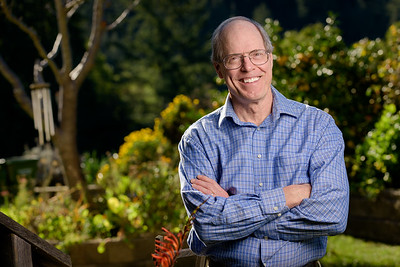 Author / Bio Business Portrait Photography - Outdoors / Private Residence in Santa Cruz