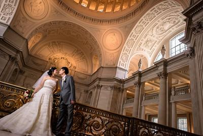 Elopement Photography at San Francisco City Hall