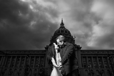 Elopement Photography at San Francisco City Hall