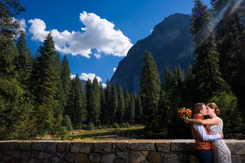 Wedding Photography at The Majestic (Ahwahnee) Hotel in Yosemite Valley