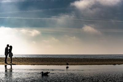 Engagement Photography on the Beach in Santa Cruz