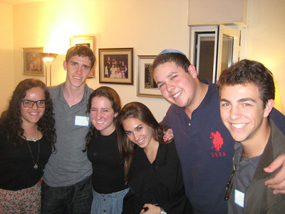 Adi's Hillel Thanksgiving Picture
