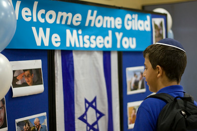 Hillel welcomes Gilad Shalit home!